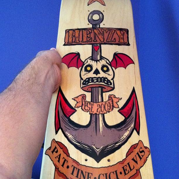 henzy_family_skateboard_deck_by_phenzyart-d6eo129