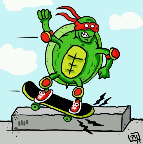 turtle-skate